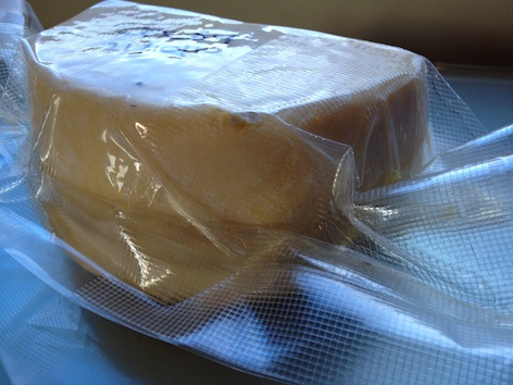 vacuum seal cheese