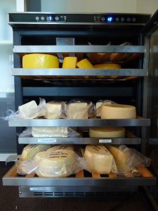 wine cooler cheese cave