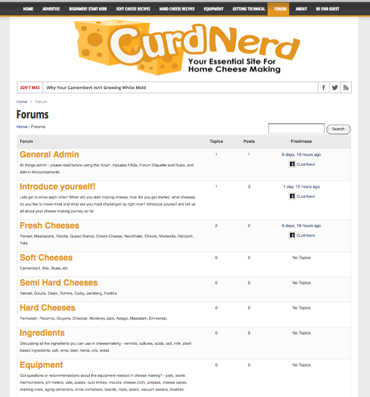 New Feature On Curd-Nerd