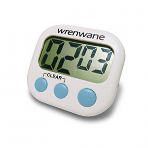 Digital Kitchen Timer for home cheese making