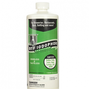 Iodophor Sanitizer essential equipment for home cheese making