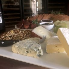 Christmas Cheese Board For Home Made Cheese