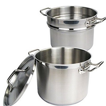 double boiler essential equipment for home cheese making