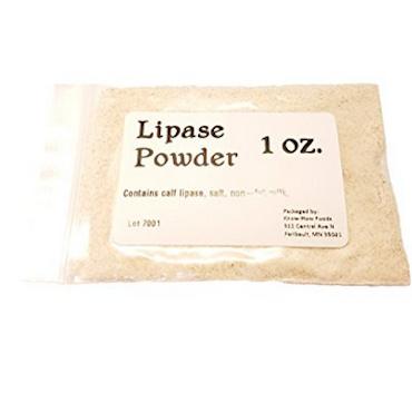 mild lipase powder calf for home cheese making