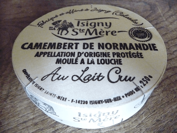 Camembert Cheese Wooden Box