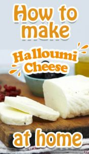 How To Make Halloumi Cheese At Home