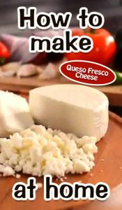 How To Make Queso Fresco Cheese At Home